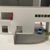 1stプラン変更点① サービスバルコニーと庭階段