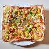 「オマール海老とアボカドのタルタル茎わさびソースのピザ」のご紹介