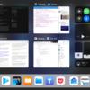 iPad Air 2 での iOS 11 マルチタスキング