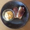 高加水パン ~ ベーコンエッグとクリームチーズブルーベリー