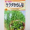 水耕栽培で「からし菜」を育てます。わさび菜との味の違いはあるのでしょうか