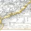 1849 独 チャイナ図に描かれるチャイナの範囲 台湾島西岸と北方沿岸の小島のみ 尖閣はなし