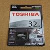 東芝 EXCERIA PRO M401 microSDカード レビュー