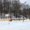 スキーができる公園