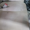 車 内装修理#89 日産/モコ モケットシート焦げ穴