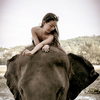 She is the most beautiful mahout in phuket