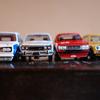 DATSUN 510 各メーカー比較(ミニカー)&  ホットウィール 510ブルーバード更新