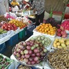 カンボジア旅行記~地元のアッパーマーケット