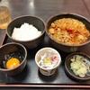 納豆ご飯とあったかい蕎麦のセットは朝ご飯に最高でした @一番町 ゆで太郎