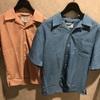 新作商品のオープンカラーシャツ!!