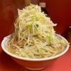 ラーメン二郎 ひばりヶ丘駅前店 『大ラーメン豚入り ウーロン茶』