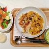 RECIPE & MARKET(レシピ& マーケット) @六本木 ヘルシーなのに際立つ美味しさ玄米パエリアローストチキンランチ