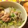 #俺の体重を減らす 牛すじ圧力鍋スープと豆腐ステーキ