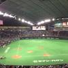 今年3回目の札幌ドームは今年2回目の野球観戦