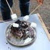 SOTO ミニ焚き火台でマシュマロ