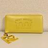 型押しシリーズ ピカチュウフェイス柄の黄色い長財布