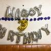 自分の誕生日でした