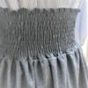 ウエストシャーリングでスカートを作ってみた。
