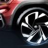 ● VWの新型SUV、ティザースケッチ…ニューヨークモーターショーで発表予定