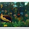 [ま]楽園のカンヴァス(原田マハ 著)/不遇の画家アンリ・ルソーの情熱に想いを馳せながら楽しむ極上のミステリー @kun_maa