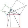 第1巻命題47 ピタゴラスの定理