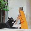 ラオスの仏教僧の備忘録(出家3日目:初めてのたくはつ♪)
