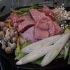 陶板鍋で鶏肉すき焼き~晩御飯の記録~