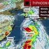 台風7号prapiroon 幼稚園休園