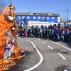 国後島、色丹島 冬を送り出し春を招くマースレニツァのお祭り