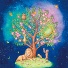 宇宙に生える生命の木、制作秘話♡