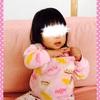 ☆ 服の中におもちゃを入れて遊ぶ 《1歳7ヶ月》