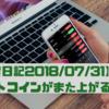 【投資日記2018/7/31】エリオット第4波終了か?また