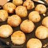 大人のロシアンたこ焼きはロシアンでもないし美味しそうな具材しか使わない。ポテサラたこ焼き最高。