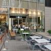 東京ミッドタウンの「トシ・ヨロイヅカ」でほうじ茶とさつまいものスフレ。