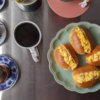 6/29(月)めんたいタマゴパン、冷しゃぶ