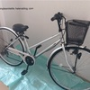自転車を家の中へ