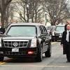 装甲車に劣らないと話題の米大統領専用車「ビースト」