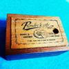 セリアのウッドアンティークスライドボックス。