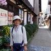 日本 背景は飛騨の郡上八幡