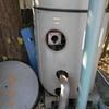 庭いじりの贅沢、「湧清水」のメンテナンス 排水口の掃除