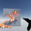 【Unity】弾を発射して壁を壊す処理の実装を見ることができる「Destructible-Walls」紹介