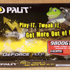 GeForce 9800GTに入れ替え