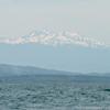 海上からの白山