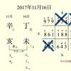 「未」が現れた時は◯◯◯!!日干支読み>2017年11月116日【丁未】【天南星】