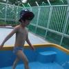 <どれみ>  プール遊び