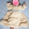 かぎ編みでセレモニードレス作ってみた