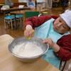 〈成美〉ホットケーキ作り
