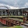 廃墟とSL機関車好きにはたまらない😍? 豊後の森機関庫🚂