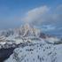 コルチナでスキー。
