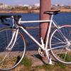 クロモリ,カーボン,TTバイク 〜 東京湾1周自転車比較